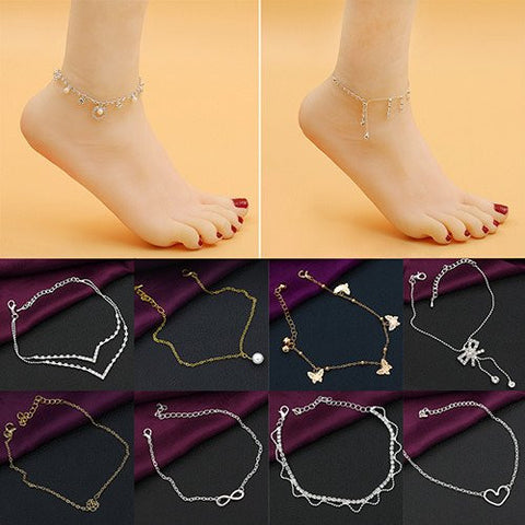 Various Trendy Anklets