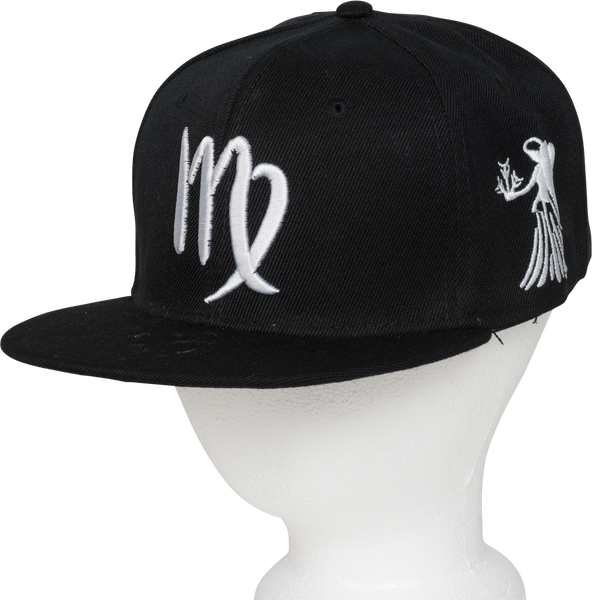 Virgo Zodiac Sign Hat - Front  Side