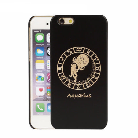 Aquarius Zodiac iPhone Case