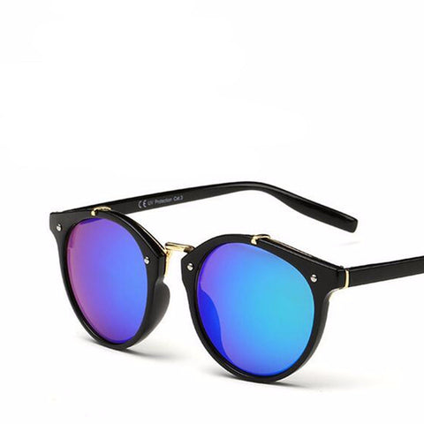 Retro Round Sunglasses (Various Colors)
