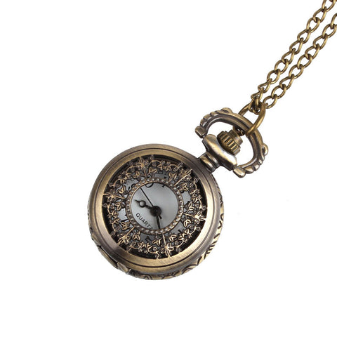 Bronze Vintage Style Pocket Watch
