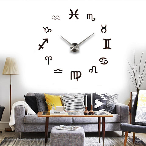Zodiac Sign Wall Clock