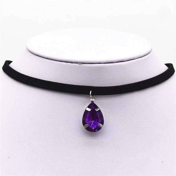 Colorful Gem Choker