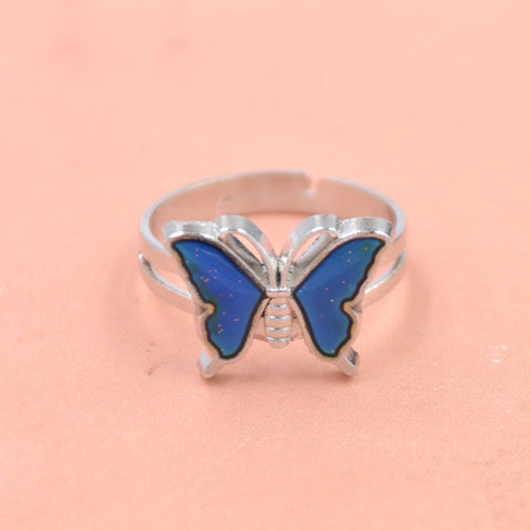 butterfly wing color changing mood ring