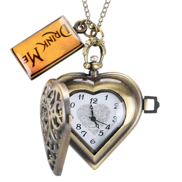 """Drink Me"" Pocket Watch"