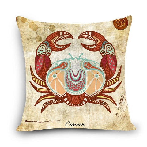 Zodiac Sign Pillow Cover