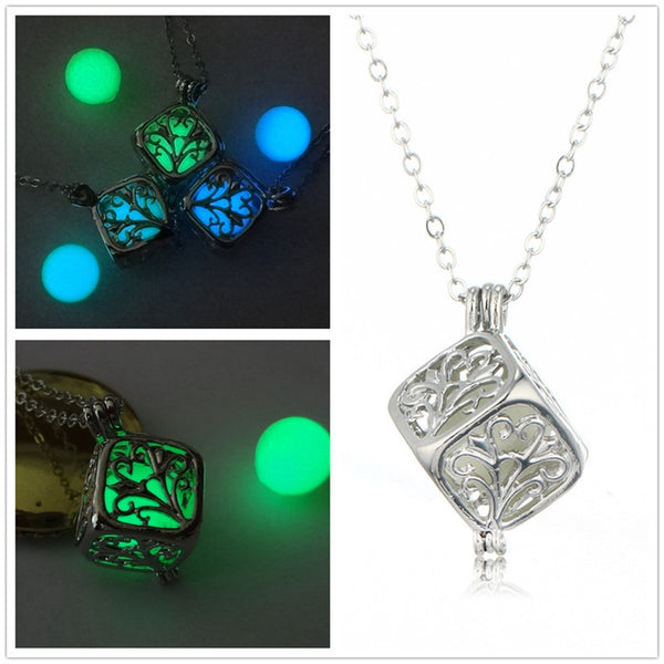 glowing cube pendant comparison
