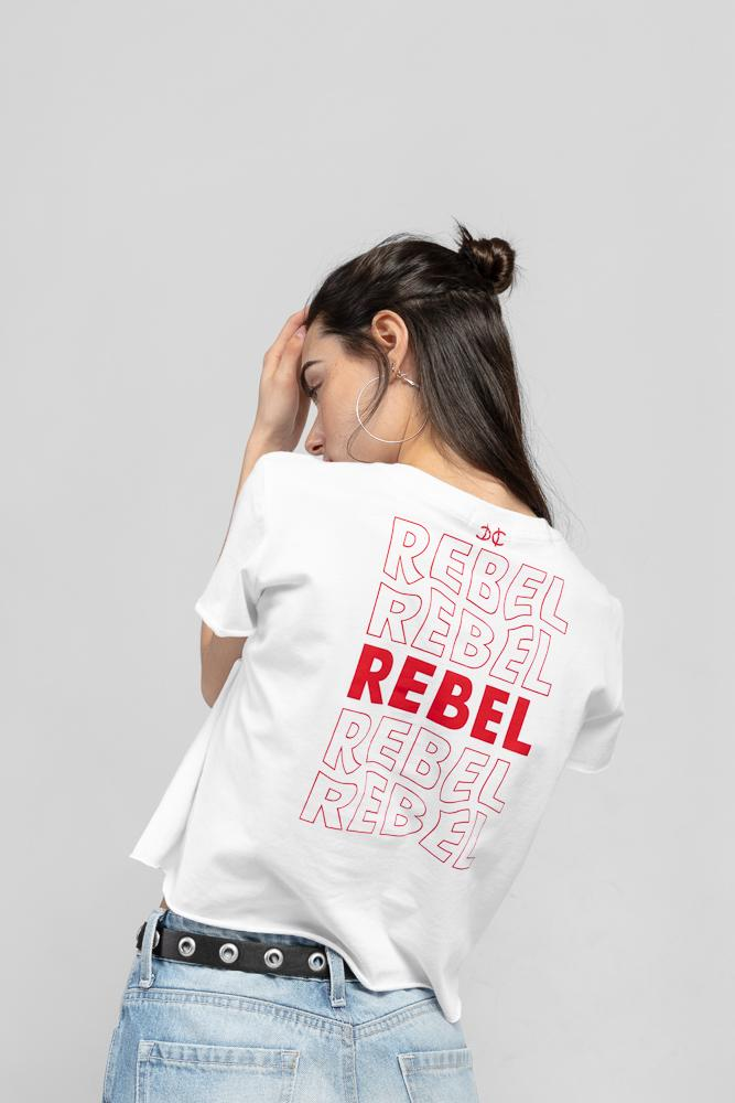 Acapella Ropa Women Graphics Rebel Crop