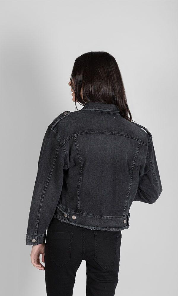 ACAPELLA Jackets The Black Cropped Jacket