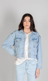 ACAPELLA Jackets The Denim Cropped Jacket
