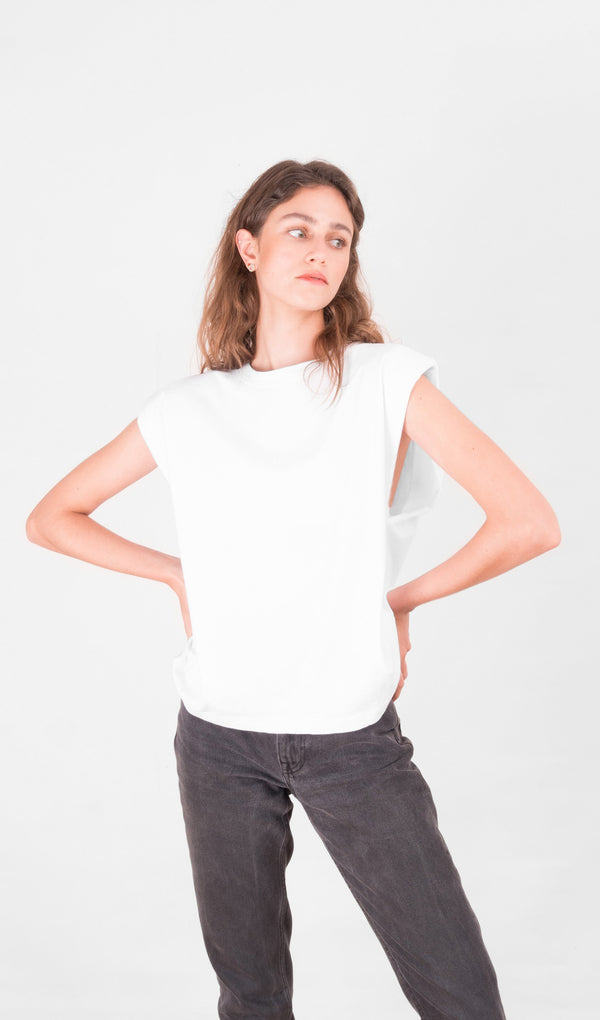 Acapella Ropa Women Basics Basic Women Tee - White