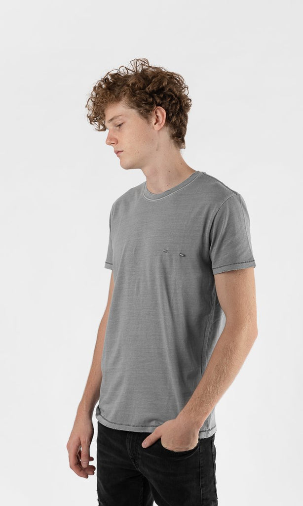 Not specified Basics Piercing T Shirt Gray