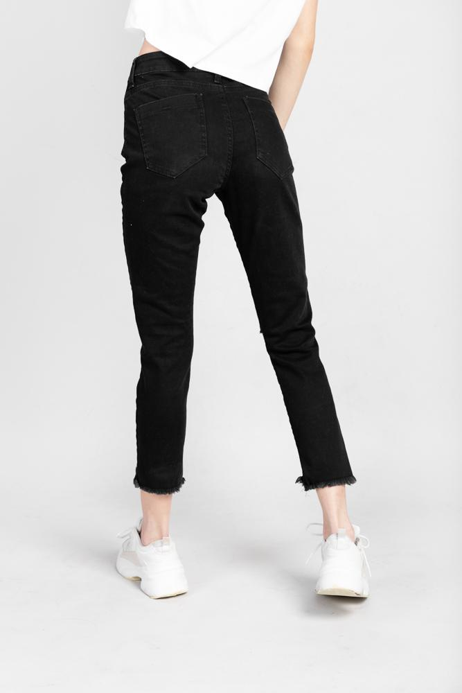 Not specified Denim Ripped Skinny Washed Black