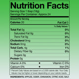 Redneck Chefs Apple Butter Nutrition Facts