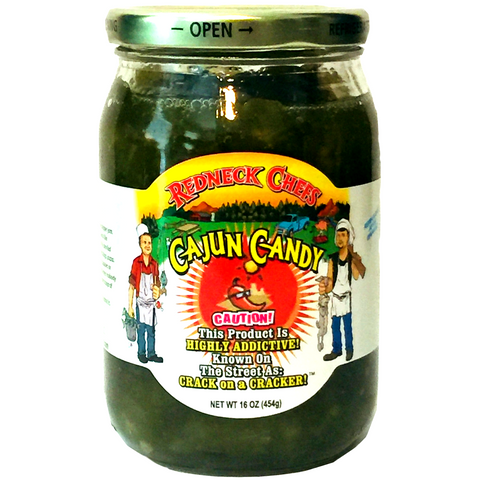 Redneck Chefs Cajun Candy Candied Jalapenos - Cowboy Candy