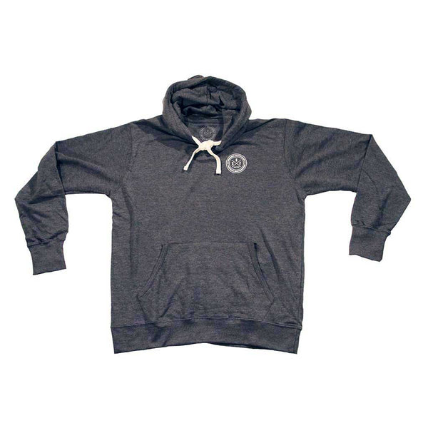 Hoodie Montreal Skateboarding 4Seasons Charcoal