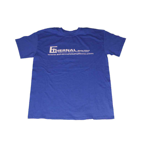 T-shirt Classic Ethernal Skate Films Navy