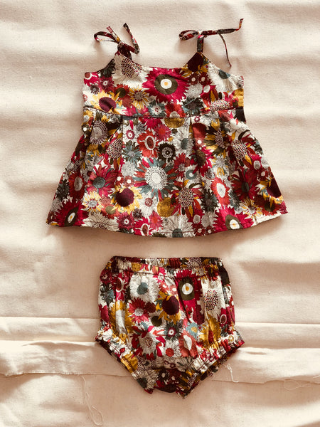 iluca the label (babe17) Stellan Floral Print Bubby Set