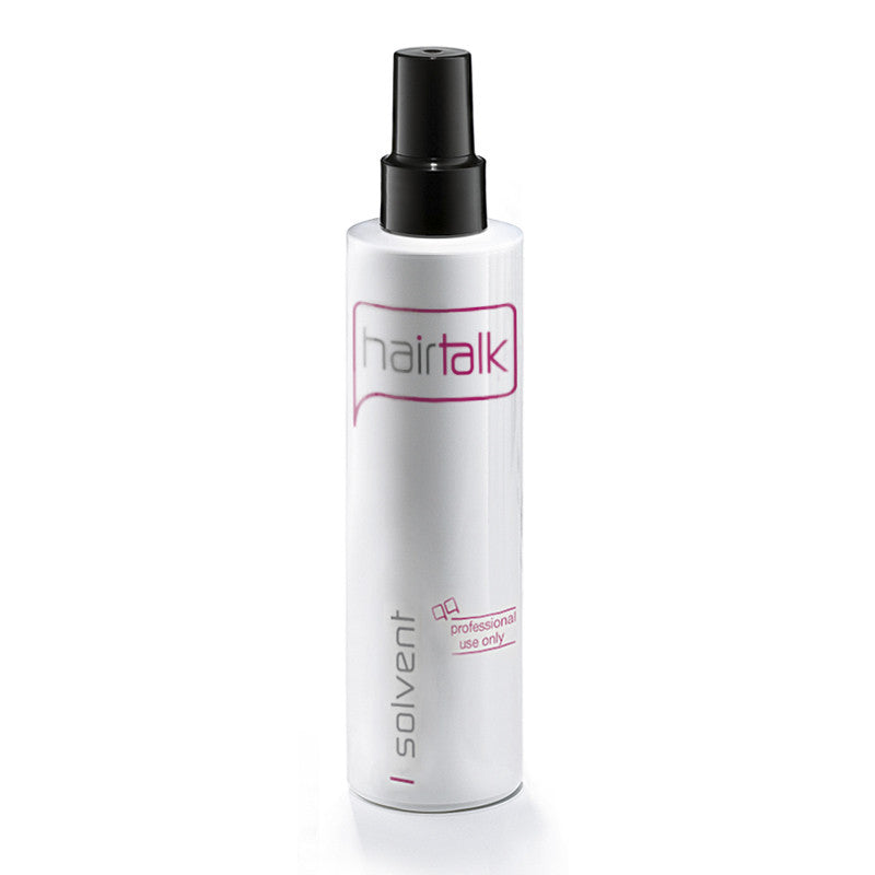 Hair talk extensions solvent