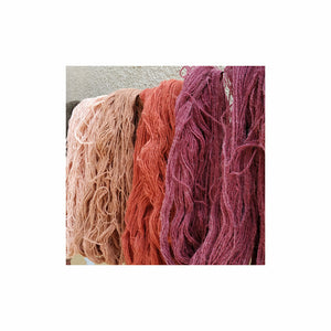 The difference in textile fibres used to make sarees in India.