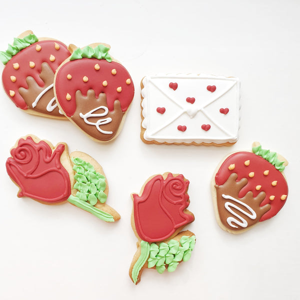 Valentines Cookie Set