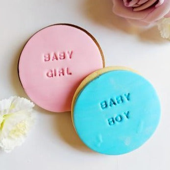 Baby Girl / Boy Cookies
