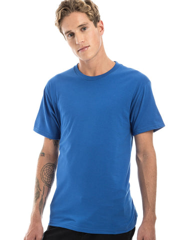 ROYAL BLUE - 100% Ringspun Cotton Short Sleeve T-Shirt by RSKE