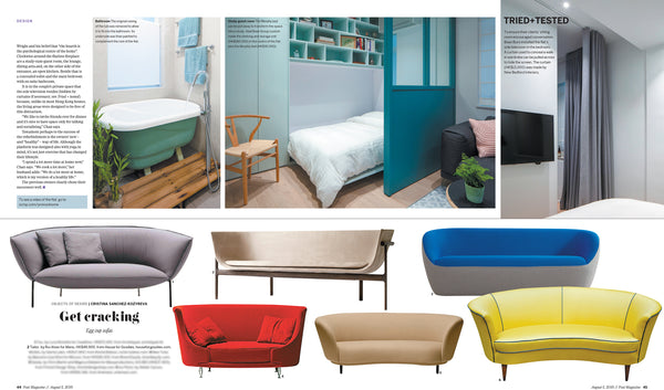 SCMP Egg Cup Sofa | Aug 2018