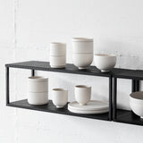 Grid Wall Shelf | Black