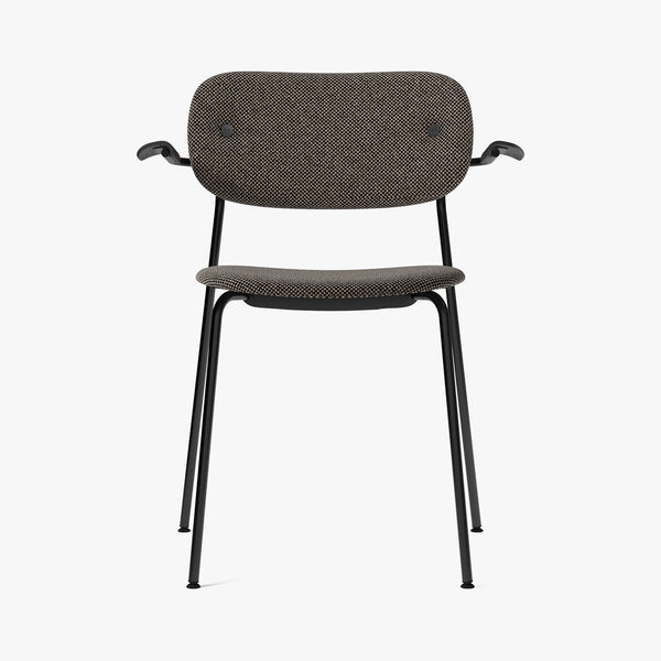Co Chair w/Armrest, Fully | Taupe Fabric