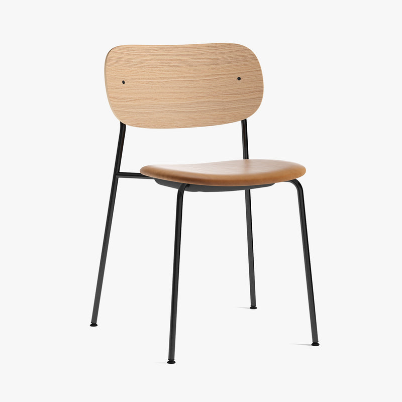Co Chair | Natural Oak / Cognac Leather