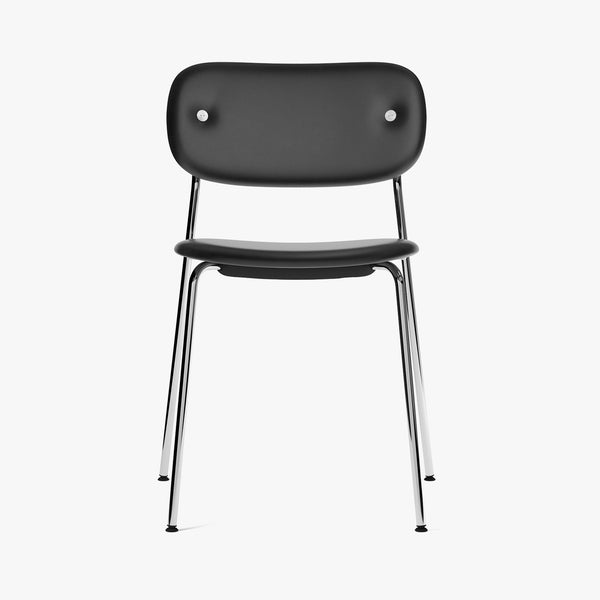 Co Chair, Fully | Black Leather