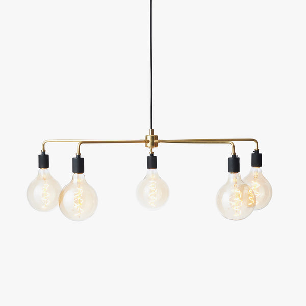Chambers Chandelier 76 | Brass