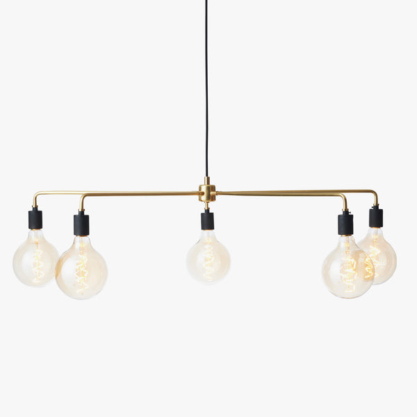 Chambers Chandelier 96 | Brass