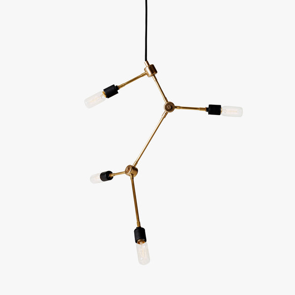 Franklin Chandelier | Brass
