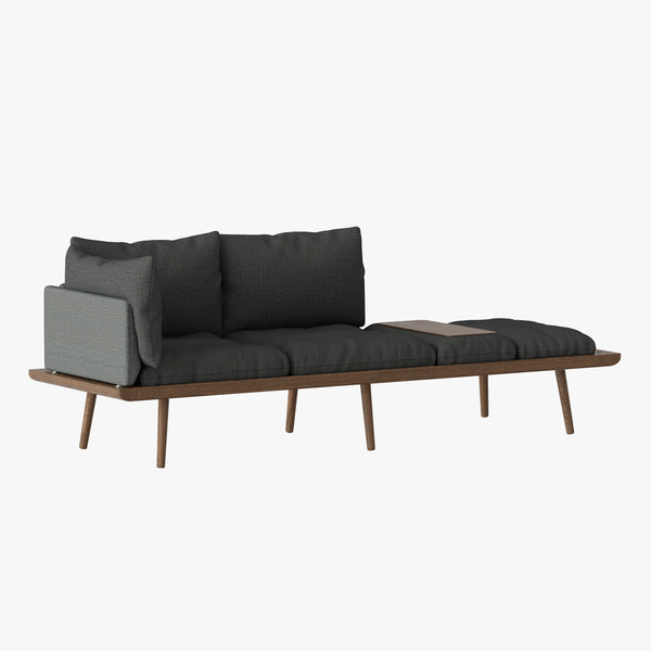 Lounge Around Sofa | Dark Oak