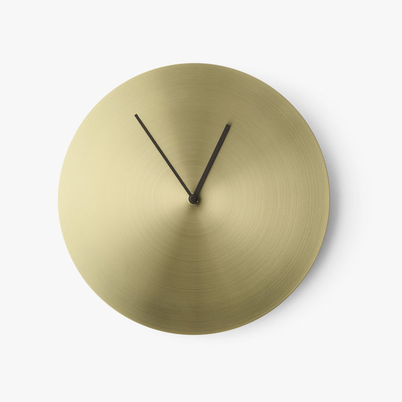 Norm Wall Clock | Brass