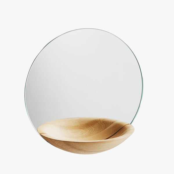Pocket Mirror | Oak (L)