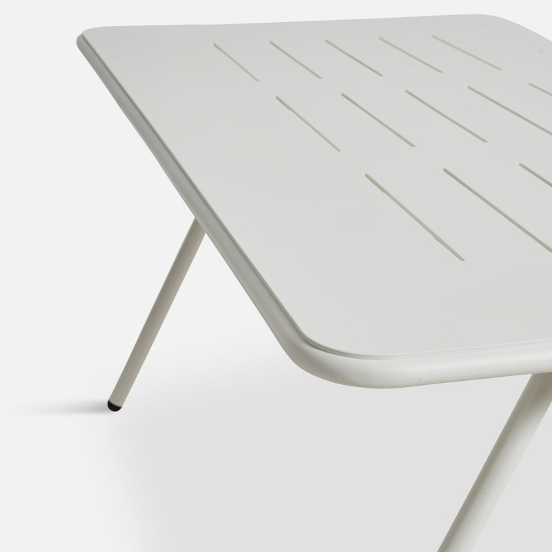 Ray Dining Table | White