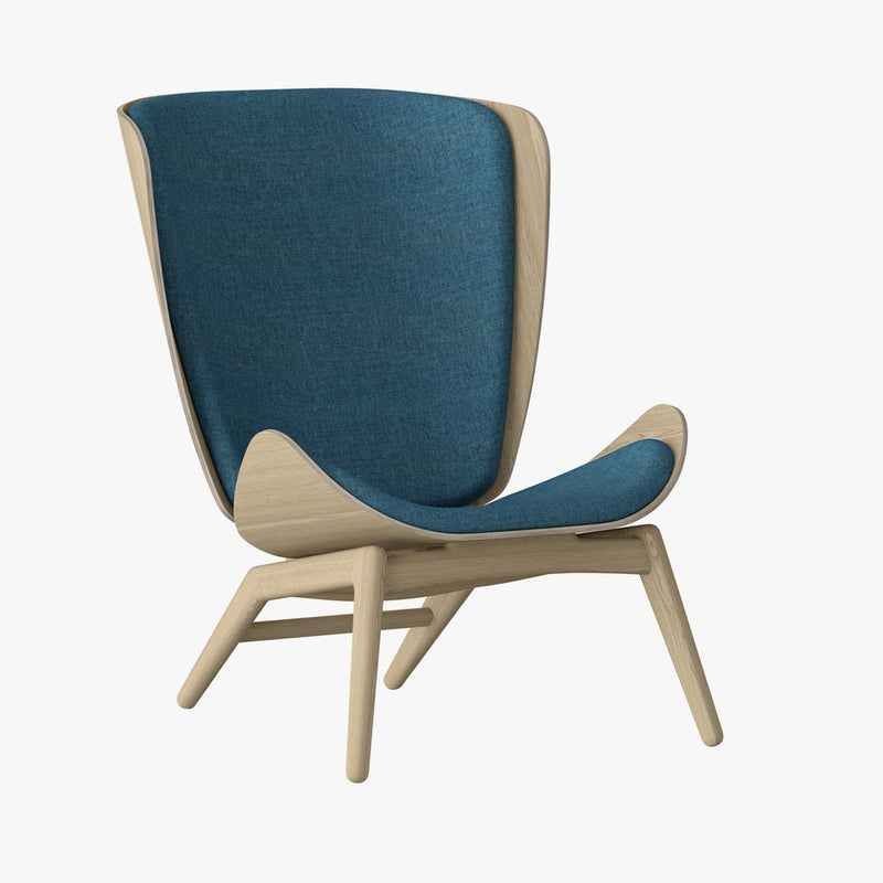The Reader Wing Chair | Petrol Blue