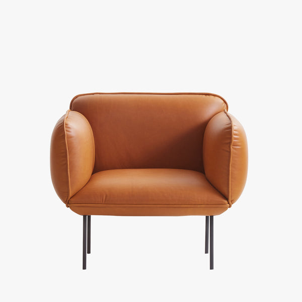 Nakki 1-Seater Chair | Cognac