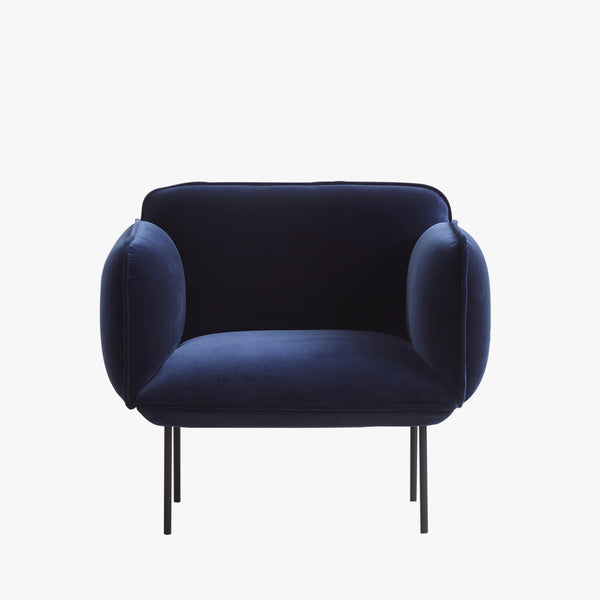 Nakki 1-Seater Chair | Navy