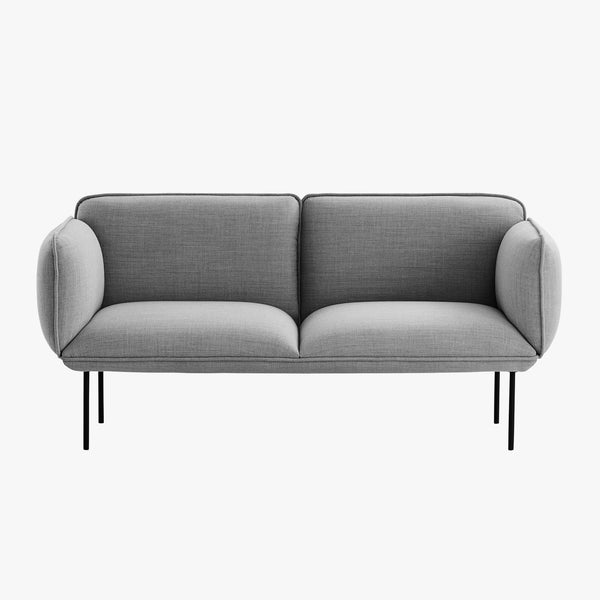 Nakki 2-Seater Sofa | Grey