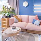 Nakki 2-Seater Sofa | Dusty Pink