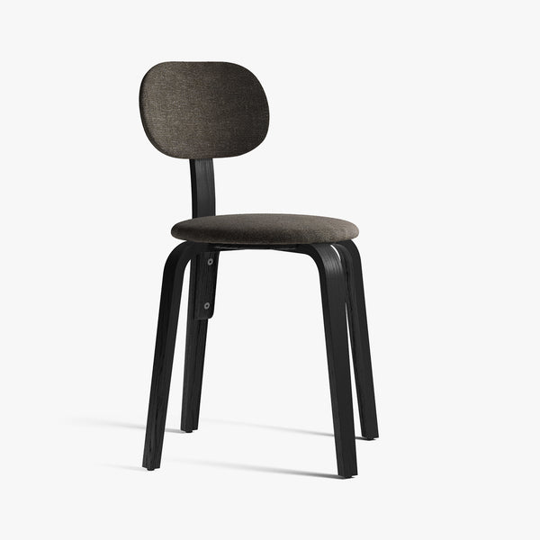 Afteroom Plywood Chair | Black / Grey