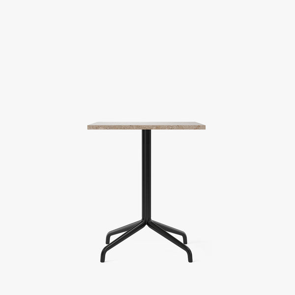 Harbour Column Dining Table 70x60 | Sand / Star Base