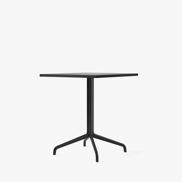 Harbour Column Dining Table 70x60 | Black / Star Base