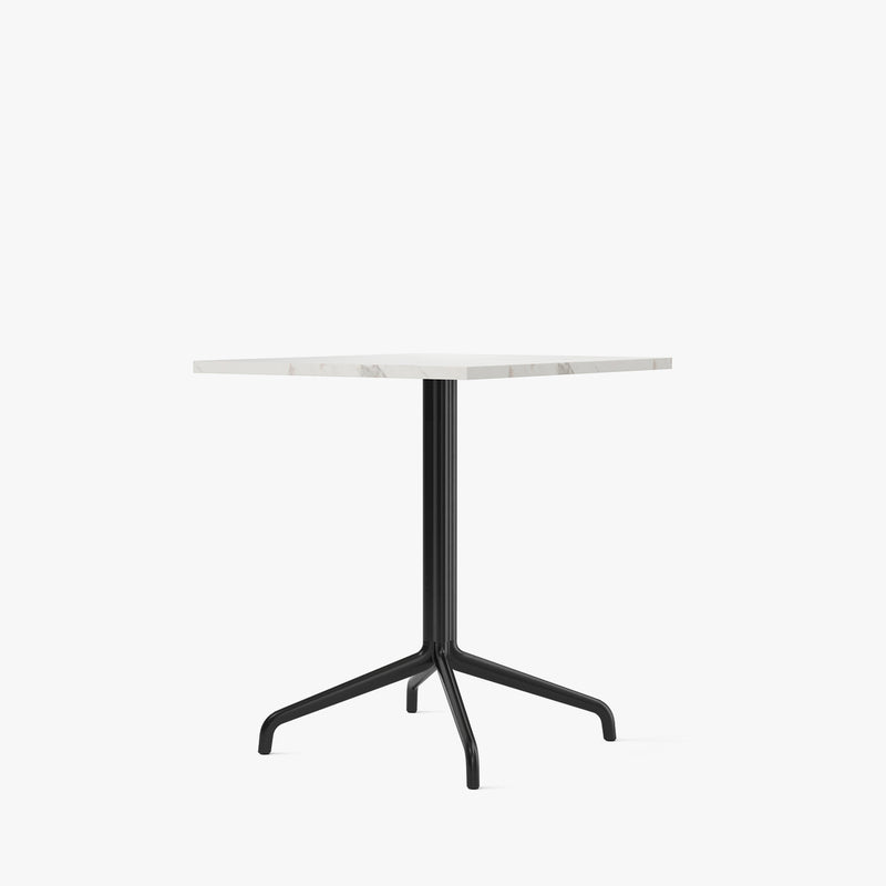 Harbour Column Dining Table 70x60 | Offwhite / Star Base