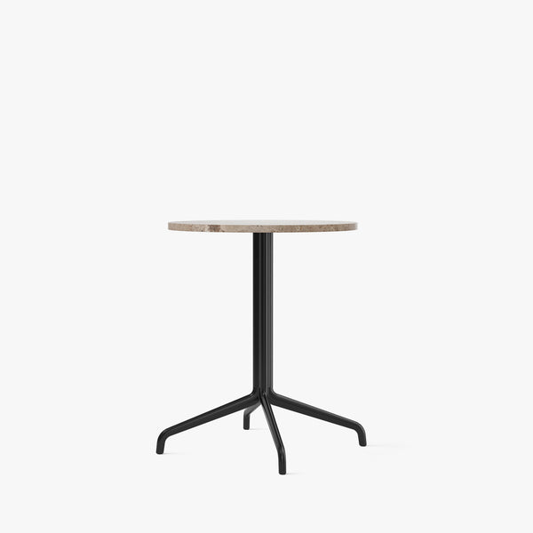 Harbour Column Dining Table Ø60 | Sand / Star Base