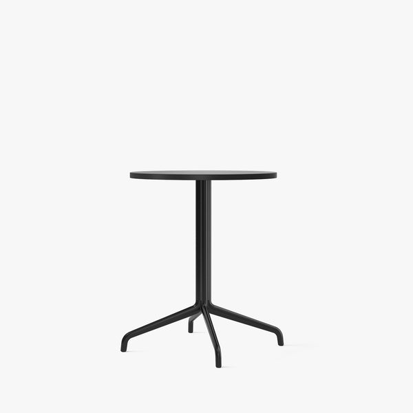 Harbour Column Dining Table Ø60 | Black / Star Base